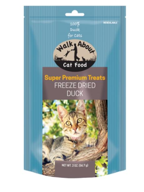 FREEZE DRIED DUCK CAT TREATS