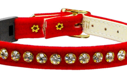 VELVET BREAKAWAY CAT COLLAR