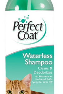 8 IN 1 PERFECT COAT WATERLESS SHAMPOO FOR CATS
