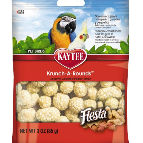 KAYTEE FIESTA KRUNCH AROUNDS AVIAN PEANUT