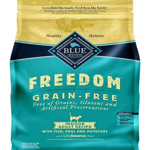 BLUE BUFFALO CAT GRAIN-FREE FISH INDOOR