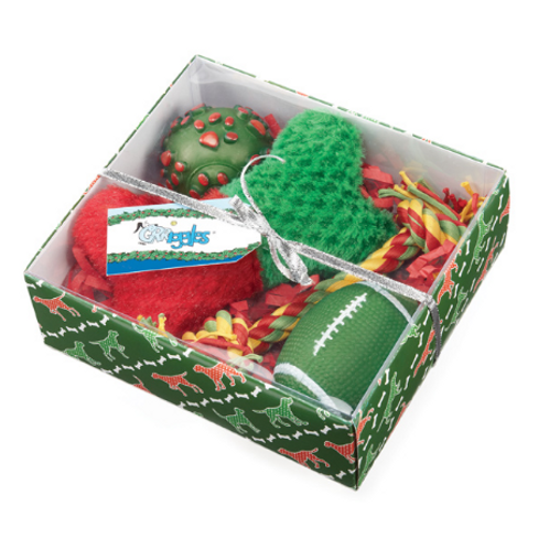 HOLIDAY HOUND GIFT SET - GREEN