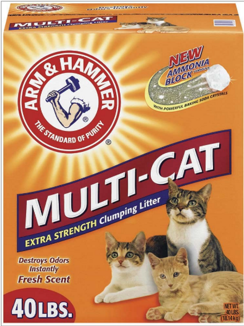 ARM & HAMMER MULTI CAT CLUMPING LITTER