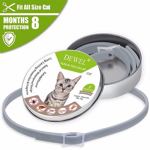 Dewel Cat Flea & Tick Collar