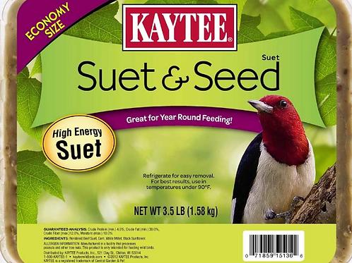 KAYTEE LARGE SUET & SEED
