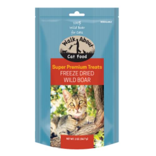 FREEZE DRIED WILD BOAR CAT TREATS