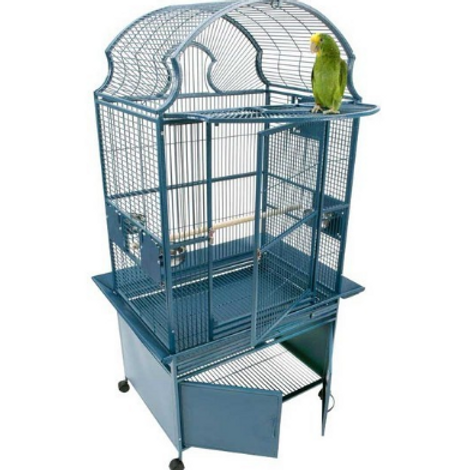 FAN TOP CAGE WITH STORAGE CABINET