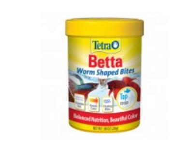 TETRA BETTA WORM SHAPED BITES