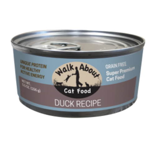 DUCK CANNED CAT FOOD