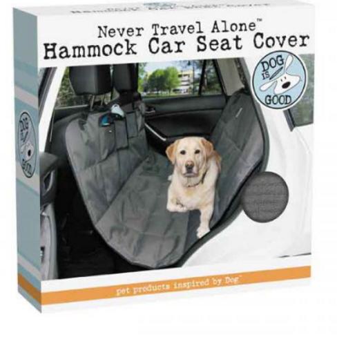 DOG IS GOOD HAMMOCK CAR SEAT COVER