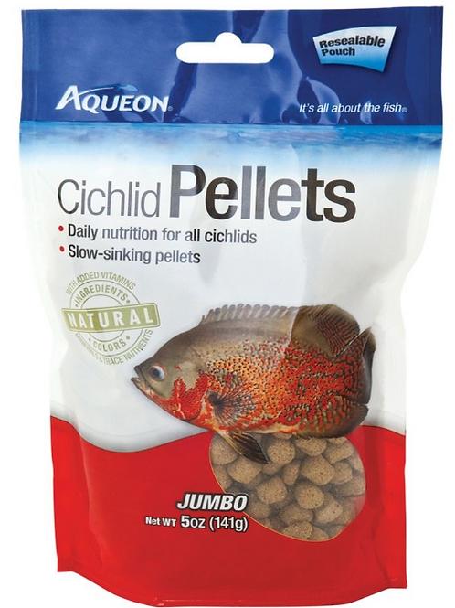AQUEON CICHLID PELLETS - JUMBO