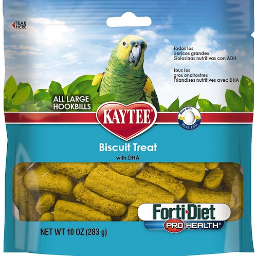 KAYTEE FORTI-DIET PRO HEALTH PARROT BISCUITS