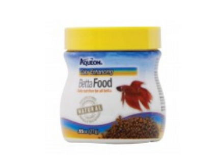 AQUEON COLOR ENHANCING BETTA FOOD