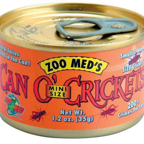 ZOO MED CAN O' CRICKETS - MINI