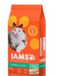 IAMS PROACTIVE HEALTH ADULT HAIRBALL CARE CAT FOOD