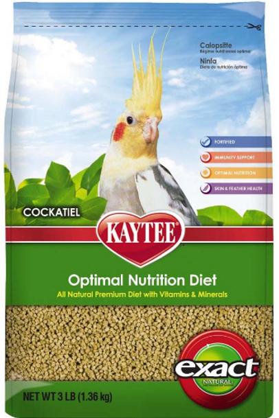 KAYTEE EXACT COCKATIEL NATURAL