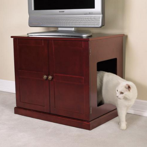 MEOW TOWN CONCORD CAT LITTER CABINET