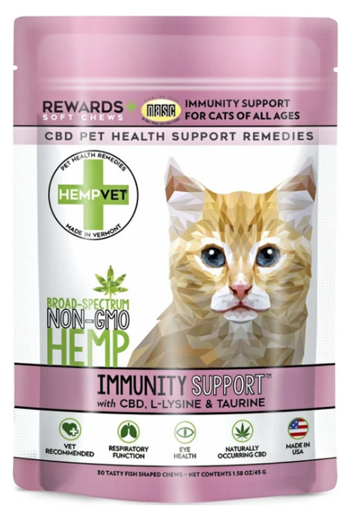IMMUNITY SUPPORT FOR CATS