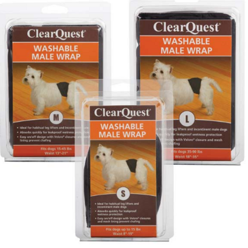 CLEARQUEST WASHABLE MALE WRAP