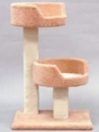 CLASSY KITTY TREE W/2 SLEEP TRAYS
