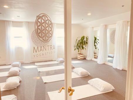 Mantra Yoga is opening Friday night!