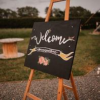 Easel & Blackboard