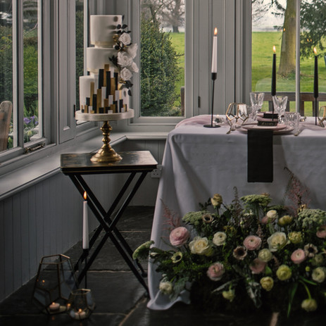 Photographer: Sam Hook / Florist: The Flower Fairy / Cake: Southwell Cakery
