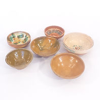 Old Terracotta Bowls