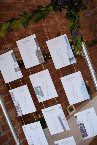 Table Plan Frame for Hire