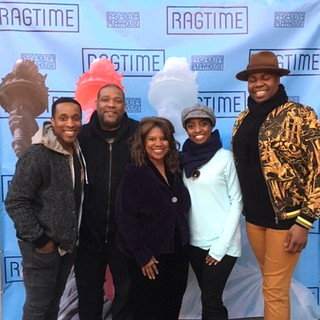 NCBW with cast of Ragtime - The Musical