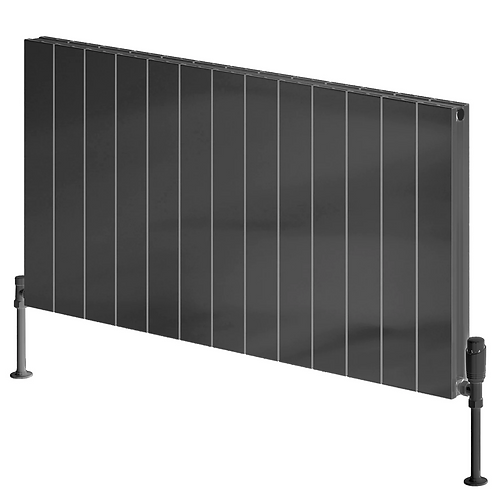 CASINA ALUMINIUM RADIATOR - 600 X 1230 ANTHRACITE SINGLE