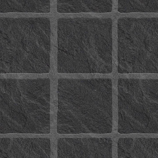 Multipanel Tilepanel Embossed Black Slate Large Matt 7146L