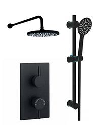 Nero Round Shower Option 4