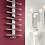 Thumbnail: PIZZO 600 X 1000 STAINLESS STEEL TOWEL RADIATOR