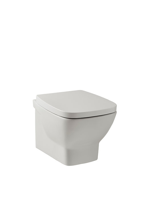 Evoque Wall hung Pan and soft close seat