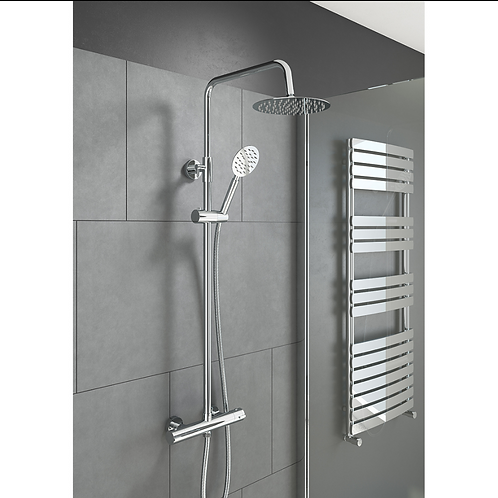 Videira Round Style Thermostatic Shower Kit