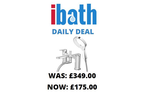DEAL OF THE DAY: METHVEN BATH SHOWER MIXER