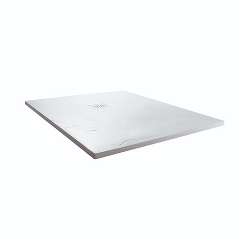 White 900x900x25mm Square Shower Tray