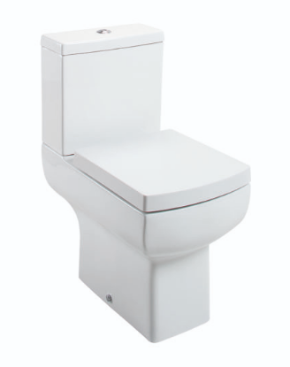 DAISY LOU CLOSE COUPLED PAN & CISTERN WITH WRAPOVER SEAT OPTION