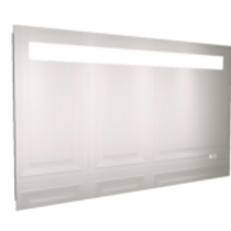 LED WIDE AMBIENT MIRROR WITH BLUETOOTH