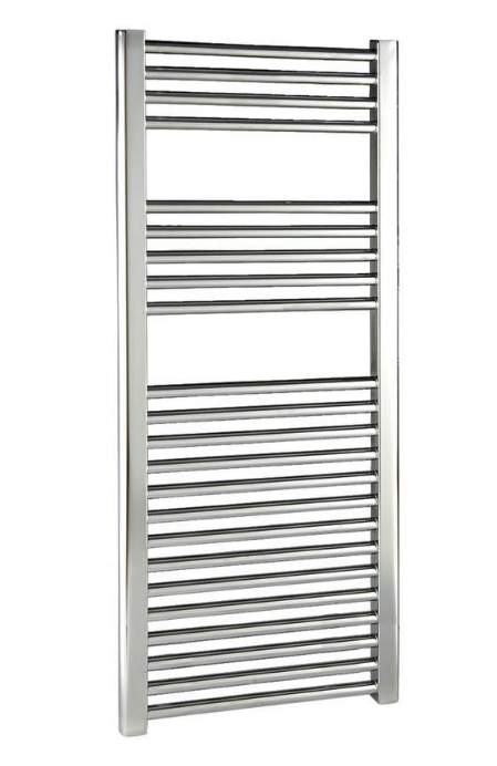 DIVA 400 X 1000 TOWEL RADIATOR CHROME CURVED