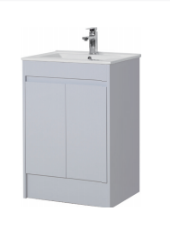 Light Grey Basin - Icladd Solid PVC Furniture