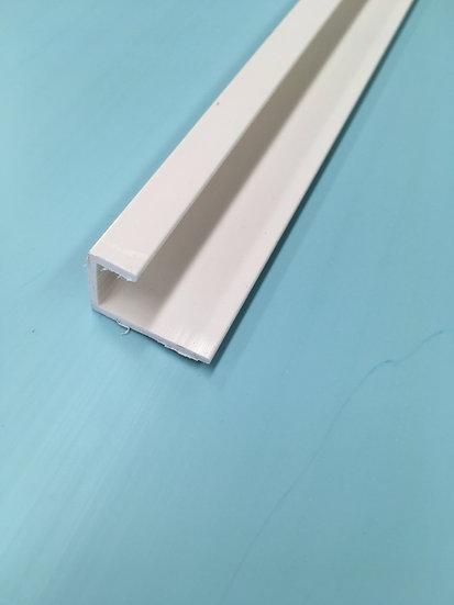 End Trim White 10mm
