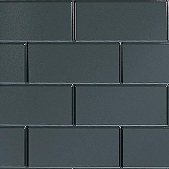 Multipanel Tilepanel Classic Brick Black Vertical- MTPBVBL