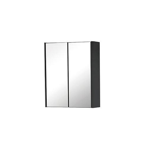 Cayo 600mm Mirror Cabinet - Anthracite