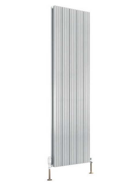 ANDES ALUMINIUM RADIATOR - 1800 X 310 DOUBLE WHITE
