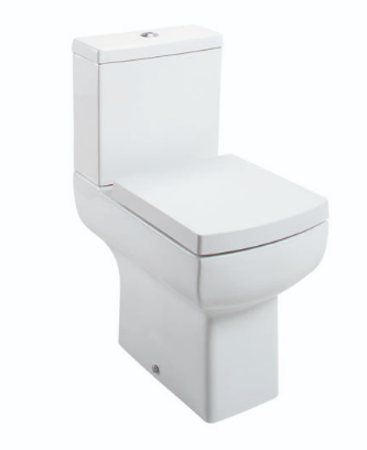 DAISY LOU COMFORT HEIGHT CLOSE COUPLED PAN & CISTERN WITH WRAPOVER SEAT OPTION