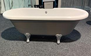 Traditional Freestanding Bath 1700x750 in Matt Grey