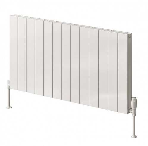 CASINA ALUMINIUM RADIATOR - 600 X 470 WHITE SINGLE