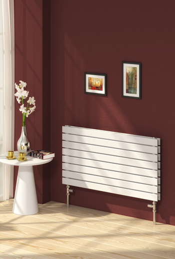 RIONE DESIGNER RADIATOR - 544 X 1000 SINGLE WHITE